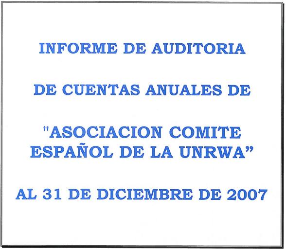 Auditoría 2007