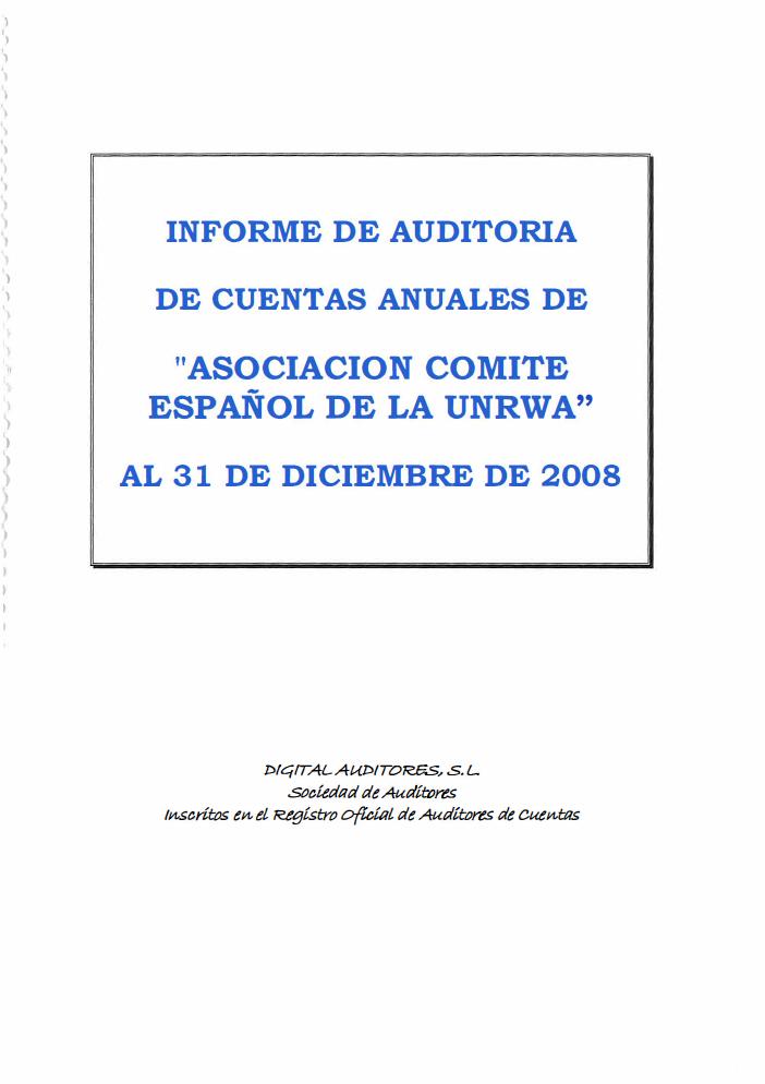 Auditoría 2008