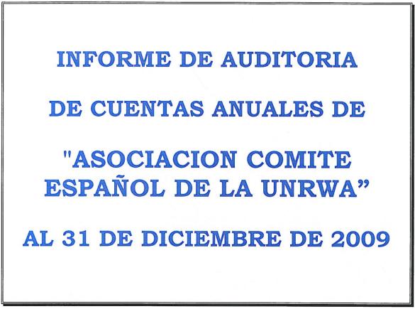 Auditoría 2009