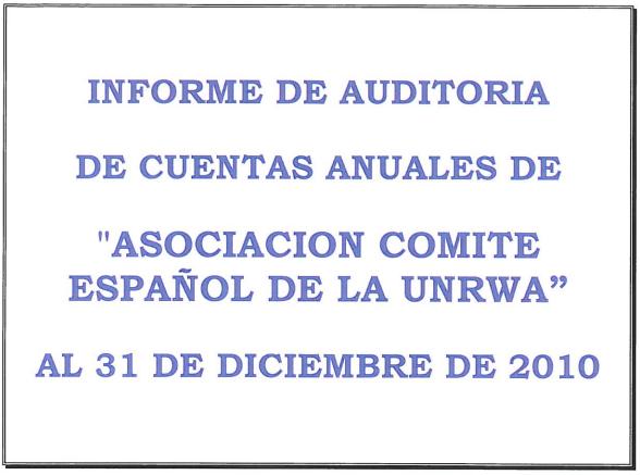 Auditoría 2010