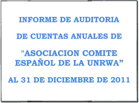Auditoría 2011