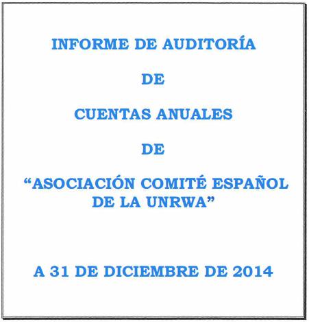 Auditoría 2014