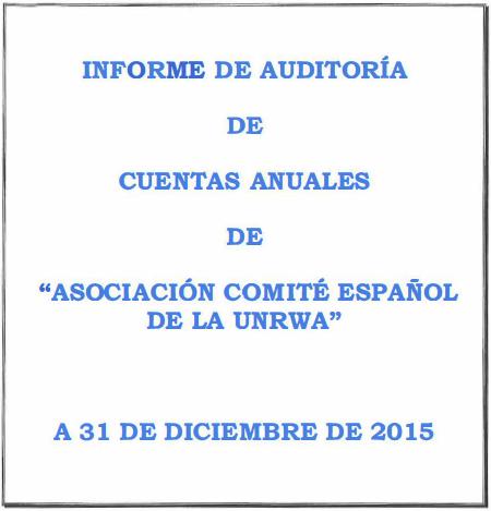Auditoría 2015