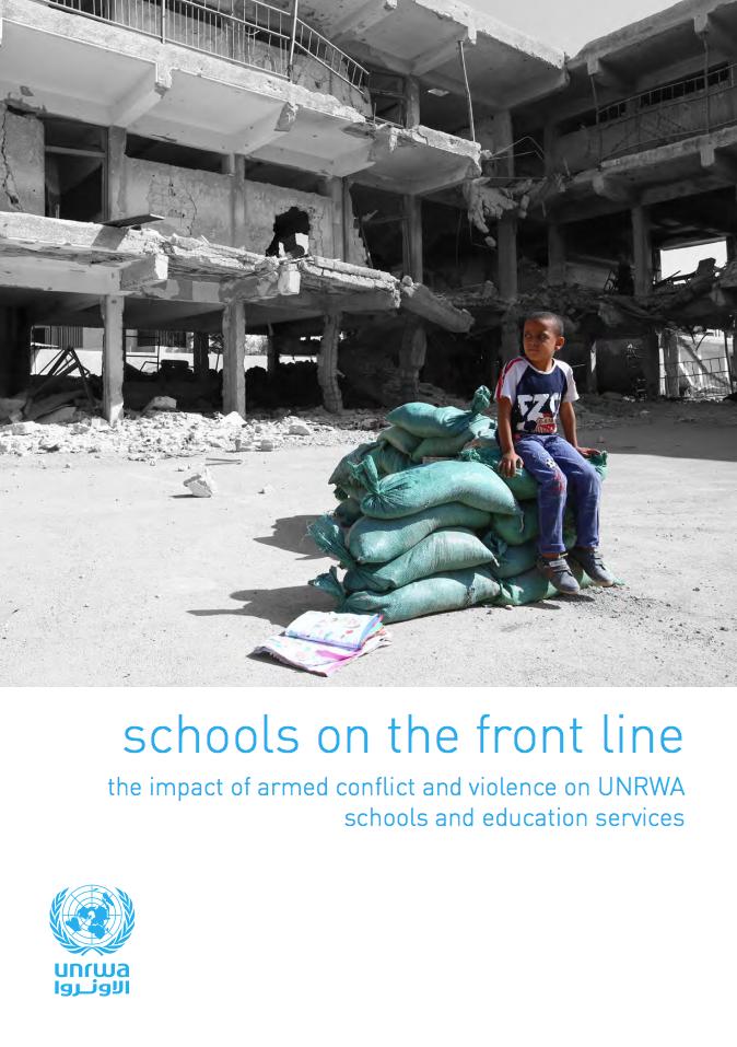Informe 'Escuelas en la línea de fuego'