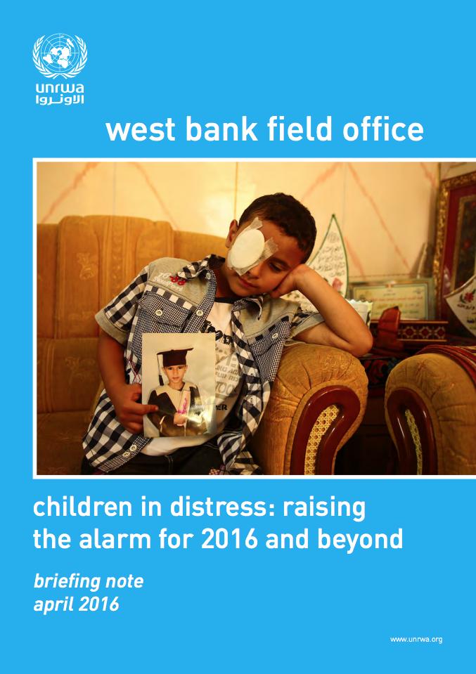 Niños que conviven con la angustia