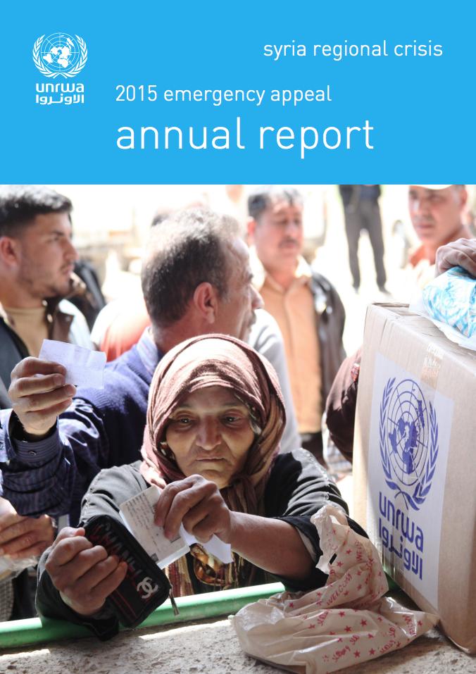 Informe anual del Llamamiento de Emergencia Siria 2015