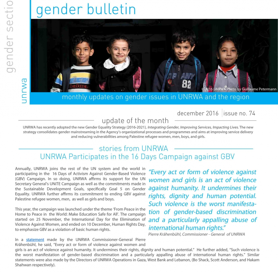 Boletín de Género