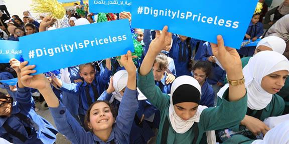 El déficit de UNRWA se reduce
