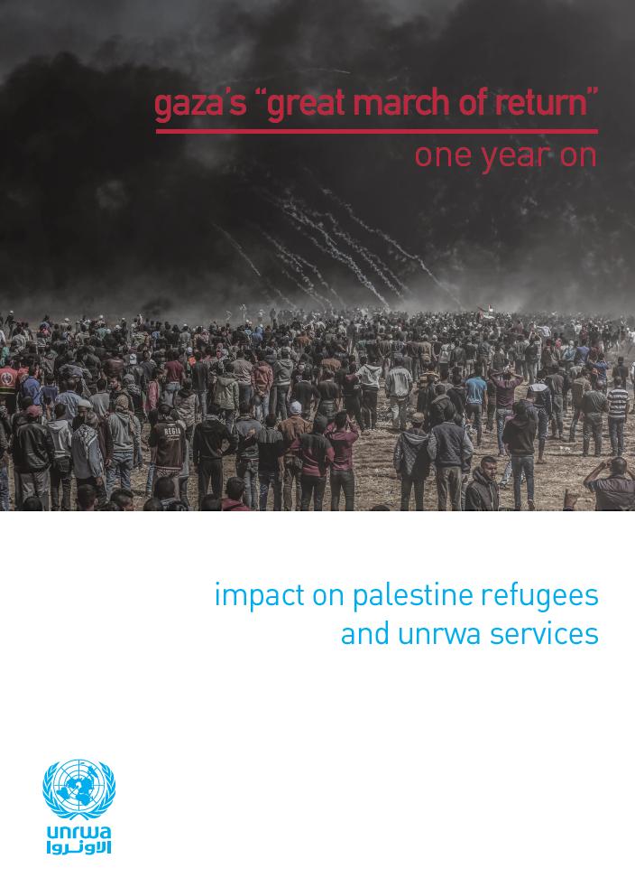 Gran Marcha del Retorno de Gaza. Un año después.