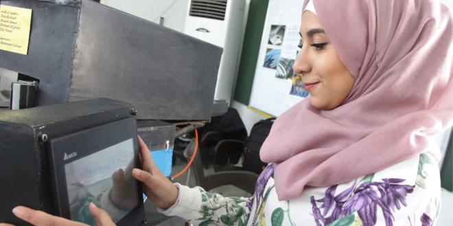 Las Prácticas profesionales de UNRWA abren las puertas a un futuro mejor