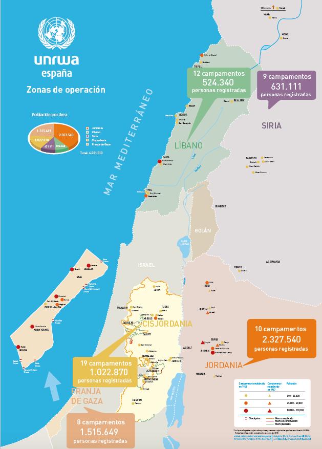 Mapa resumen de operaciones 2018