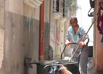 Dignidad y esperanza a través del programa de empleo de UNRWA