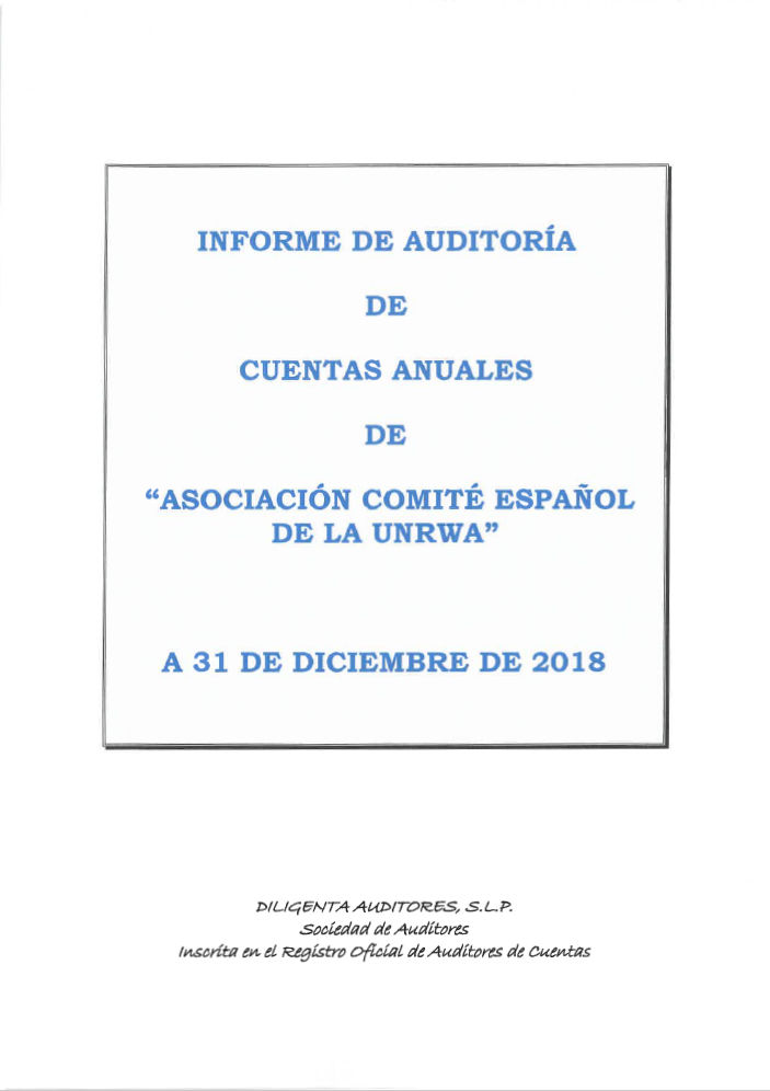 Auditoría 2018