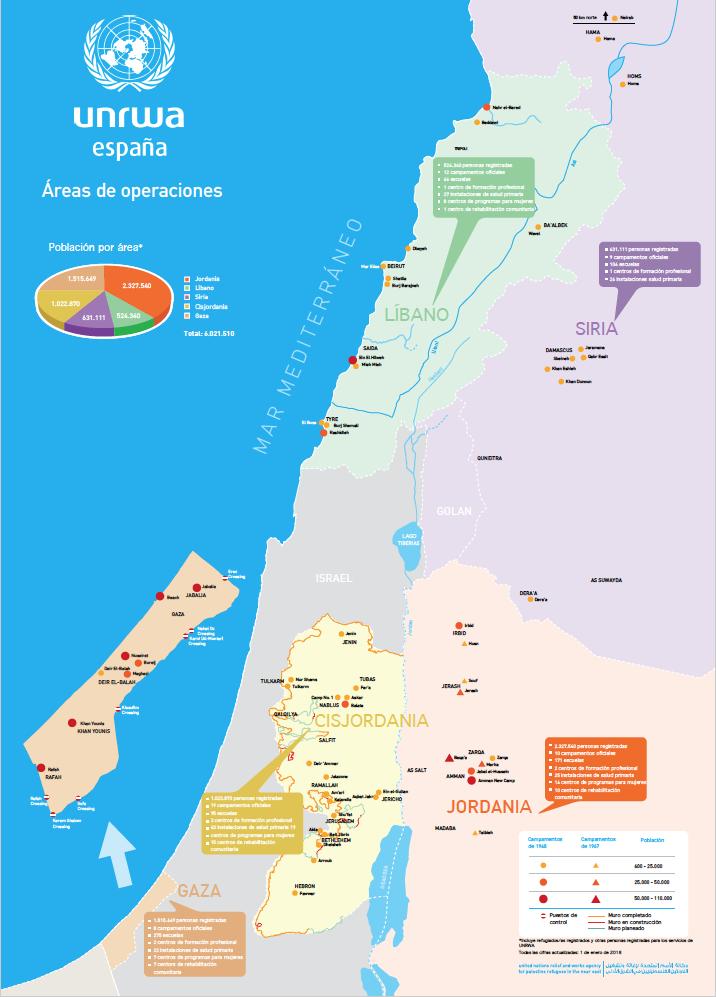 Mapa de operaciones 2018