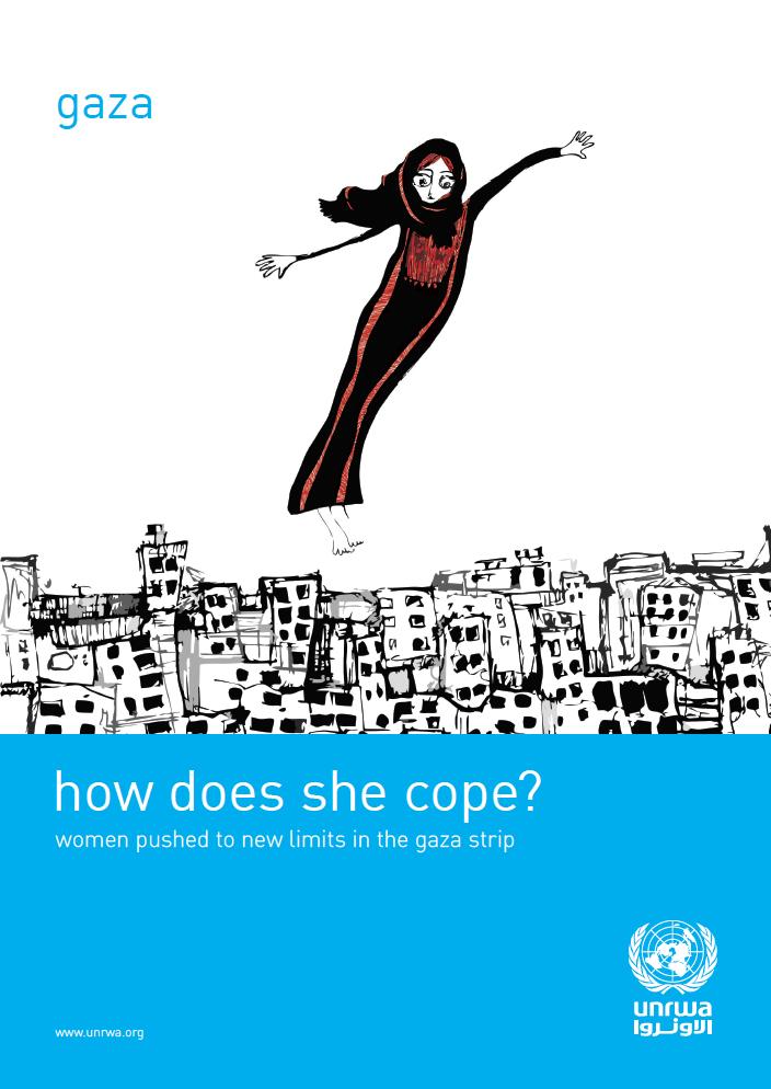 ¿Cómo lo afronta? Mujeres arrastradas a situaciones límite en la franja de Gaza.