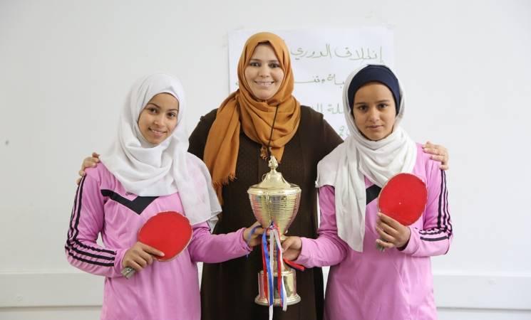 Cuando el deporte ilumina el futuro de las mujeres en Gaza