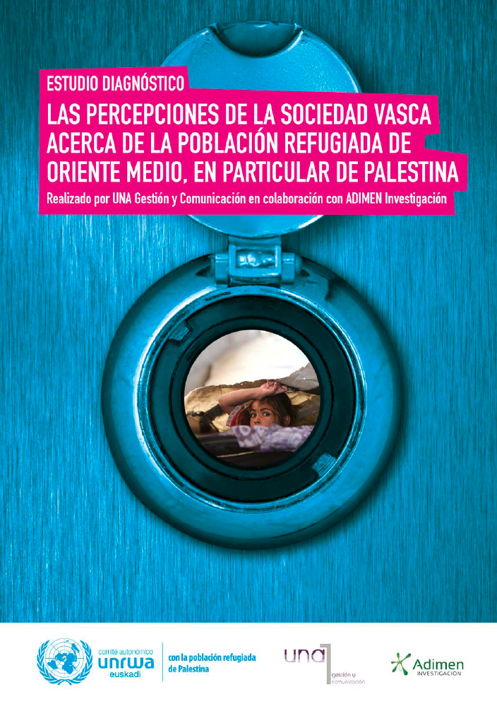 Las percepciones de la sociedad vasca acerca de la población refugiada de Palestina