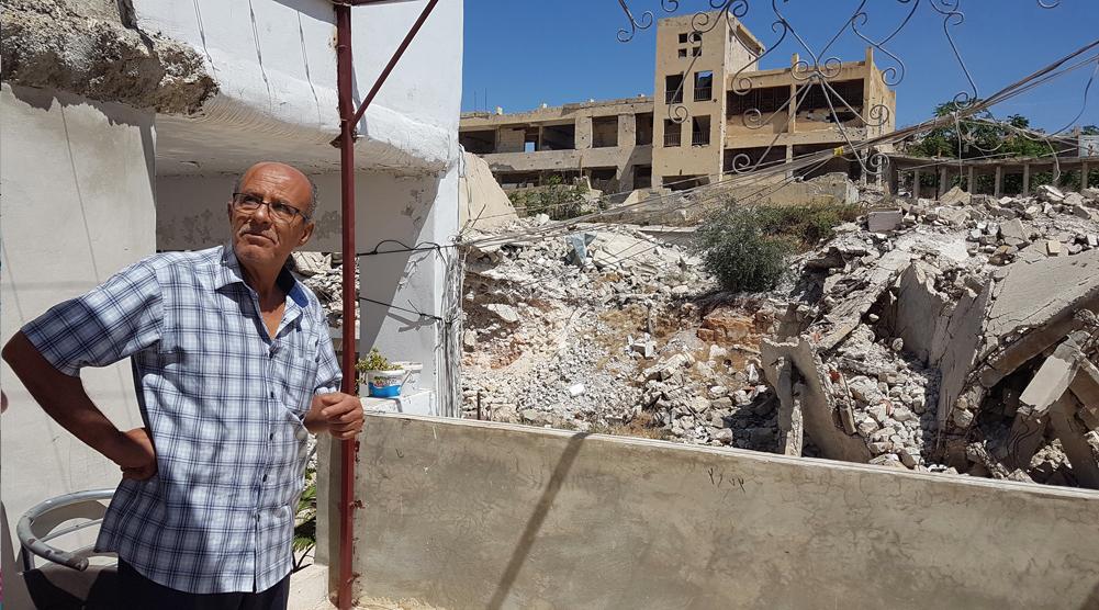 """""""Mi sueño es ver a otras familias regresar al campamento y que la escuela de UNRWA vuelva a abrir"""""""