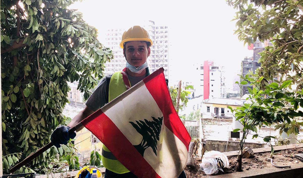 La solidaridad de Mohammad hacia el país que limita sus sueños