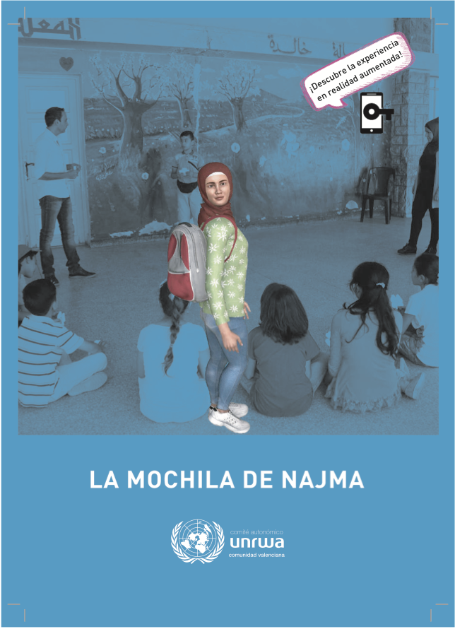 La mochila de Najma