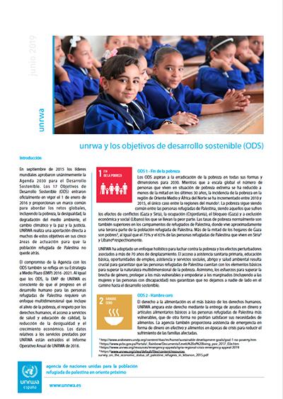 UNRWA y los ODS