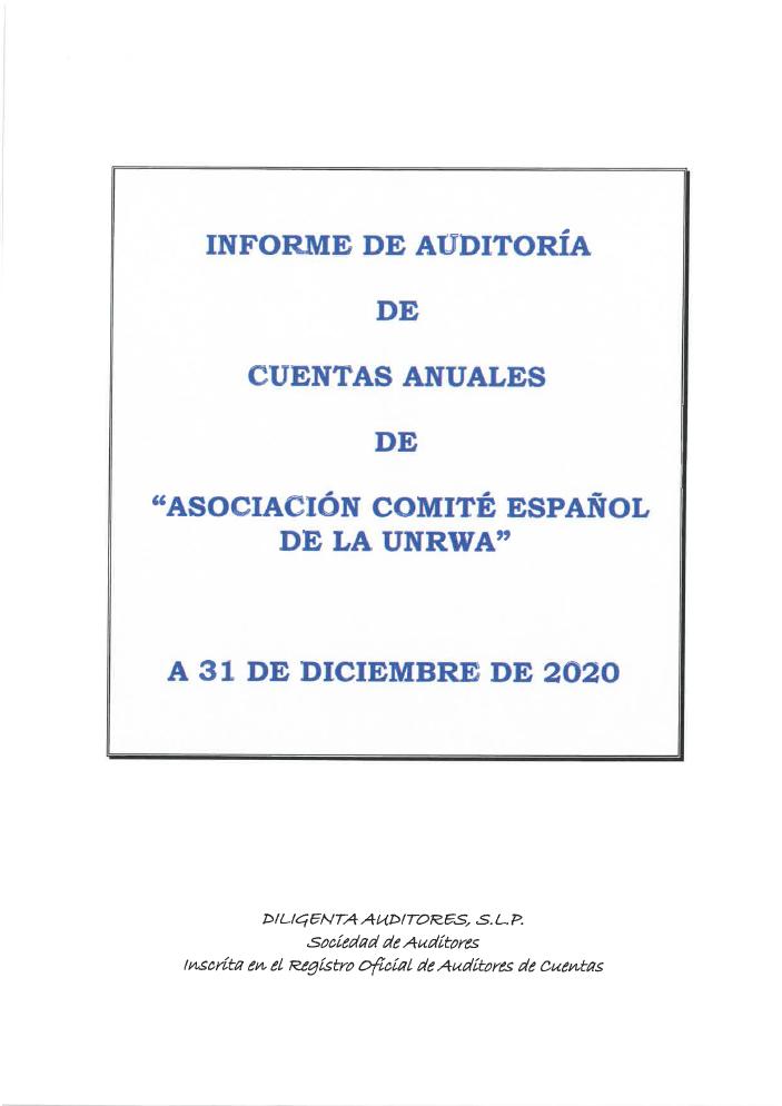 Auditoría 2020