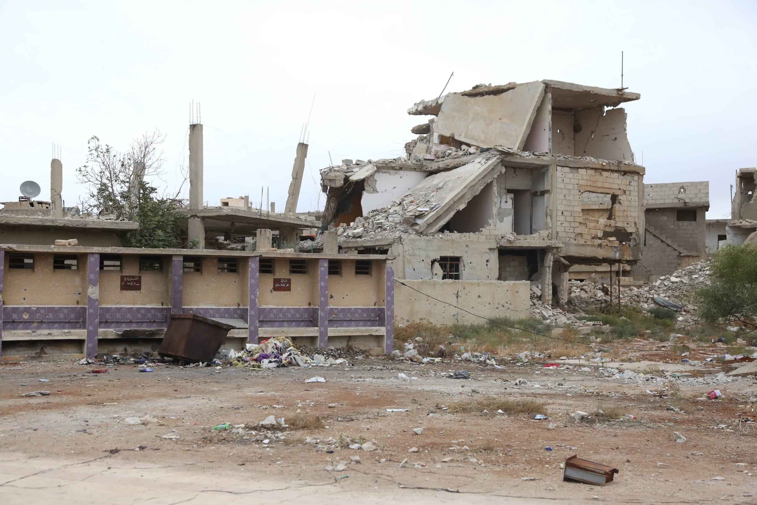 Tras los últimos bombardeos al sur de Siria el principal cruce de asistencia humanitaria ha cerrado